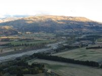 Cardrona River and the Criffel Range